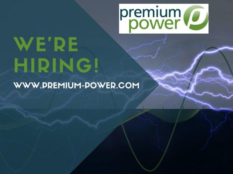 Opportunities now open at Premium Power